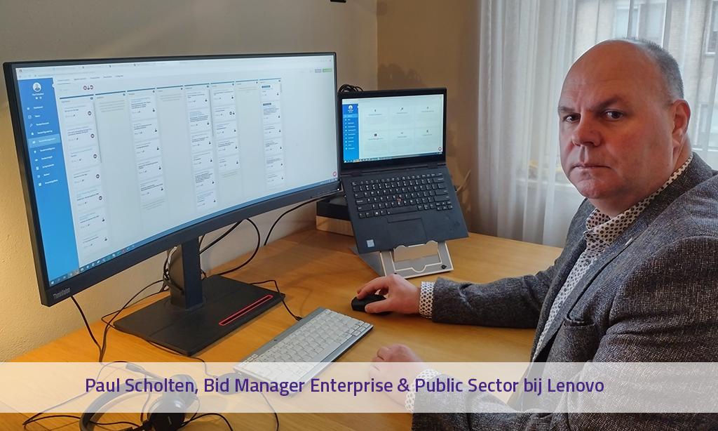 Paul Scholten, Bid Manager bij Lenovo