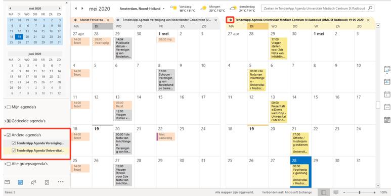 TenderApp release San-Diego voeg de agenda toe in je outlook-1
