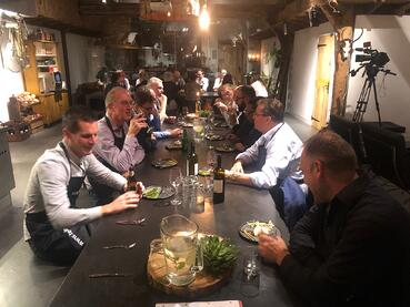 TenderApp Expertdiner 2019 tafelen