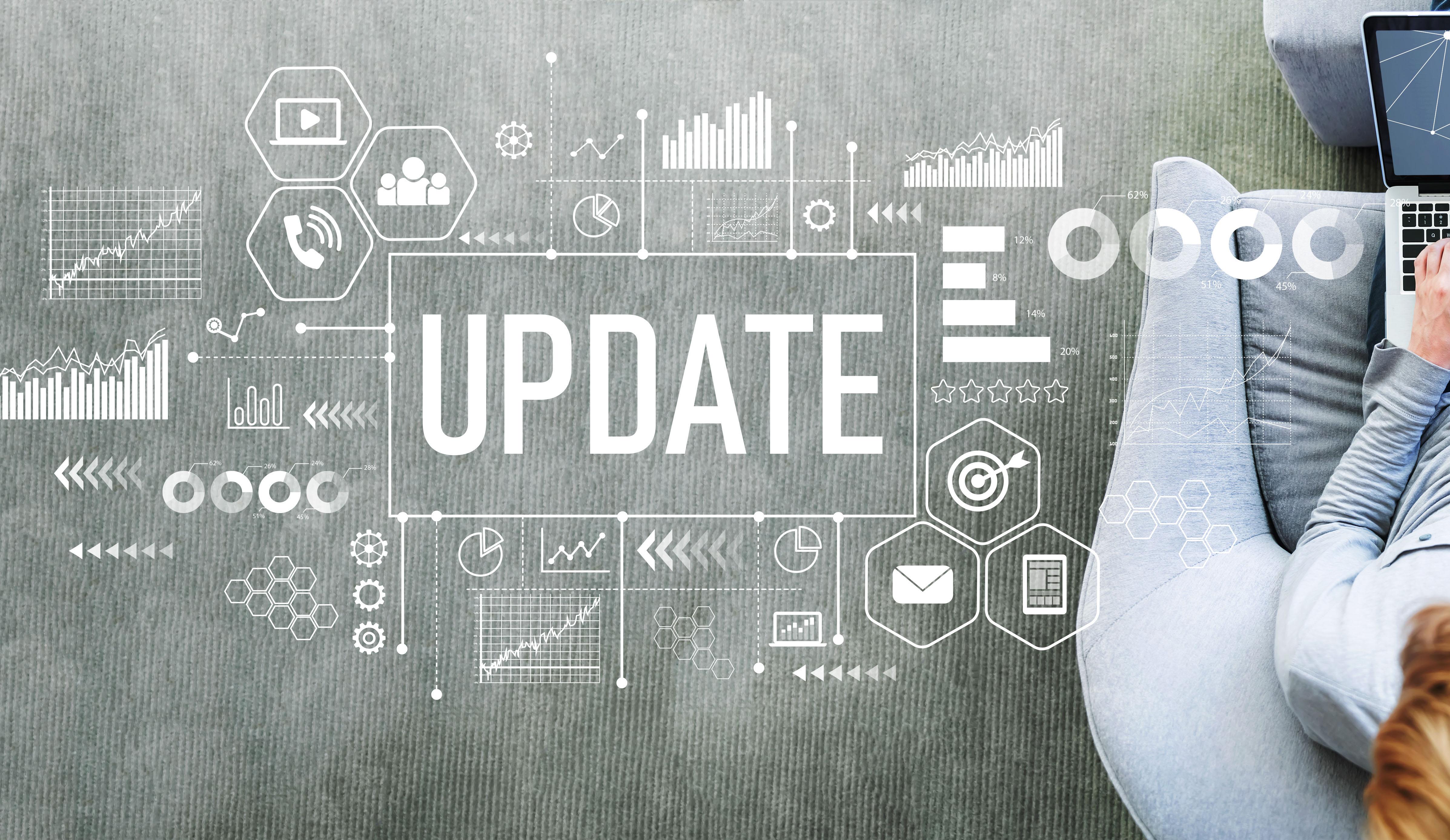 TenderApp update