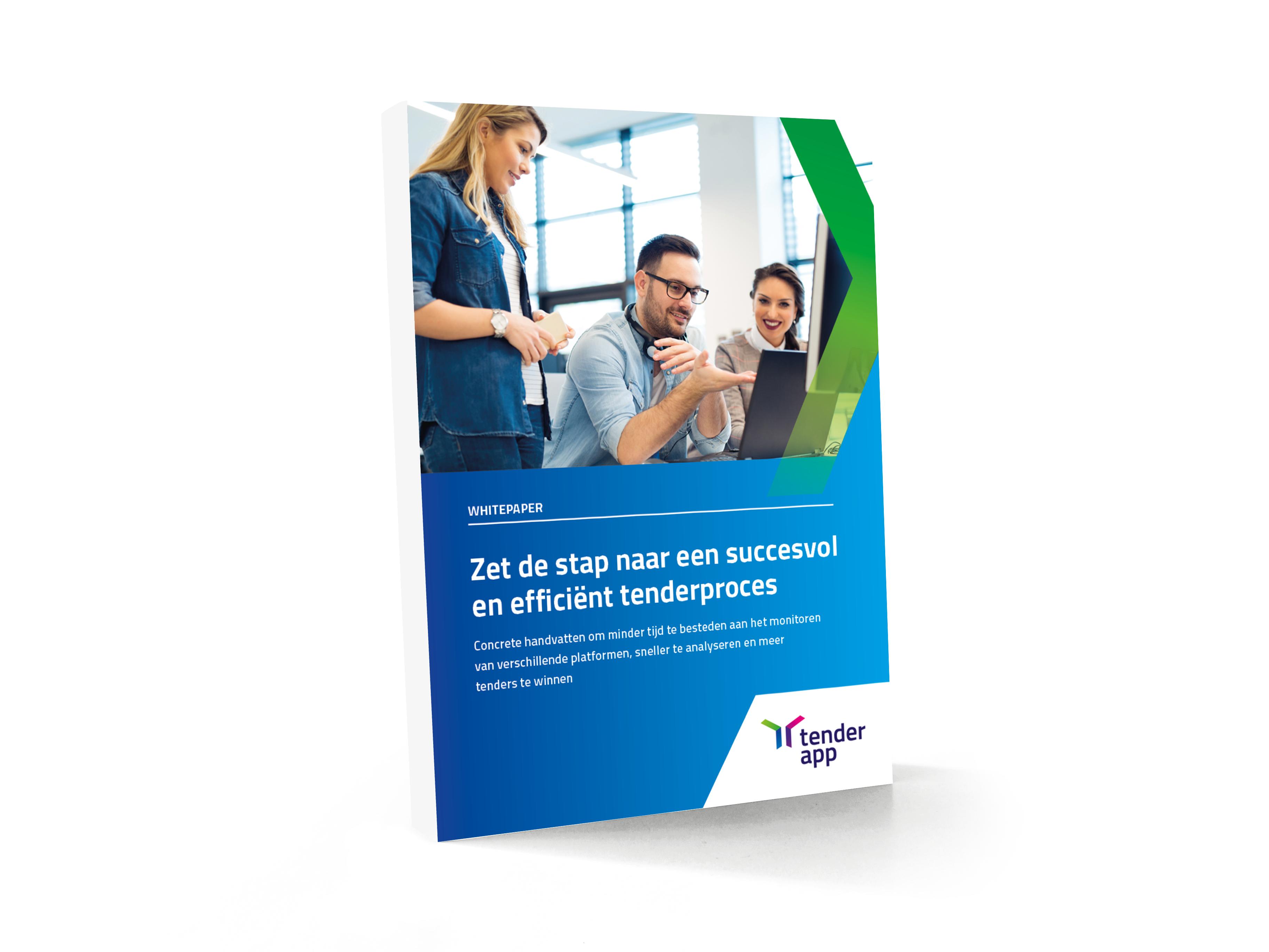 book-mockup WP- In 3 stappen naar een succesvol en efficient tenderproces V1.0 wit boek
